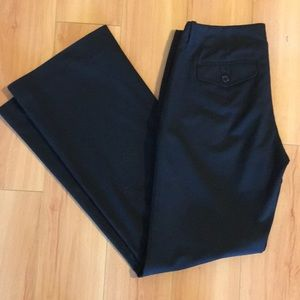 Black Limited Pants, slight flare leg, size 2R